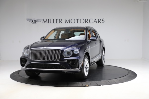 New 2021 Bentley Bentayga V8 for sale $203,205 at Bentley Greenwich in Greenwich CT 06830 1