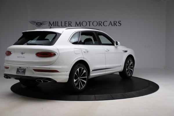 New 2021 Bentley Bentayga V8 for sale $207,765 at Bentley Greenwich in Greenwich CT 06830 8
