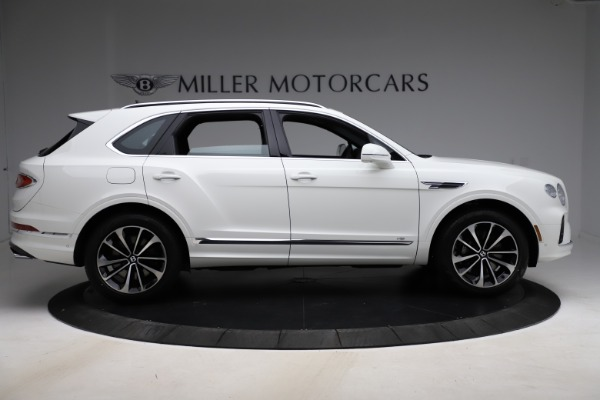 New 2021 Bentley Bentayga V8 for sale $207,765 at Bentley Greenwich in Greenwich CT 06830 9
