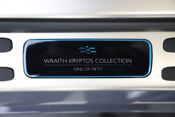 New 2021 Rolls-Royce Wraith KRYPTOS for sale Sold at Bentley Greenwich in Greenwich CT 06830 26
