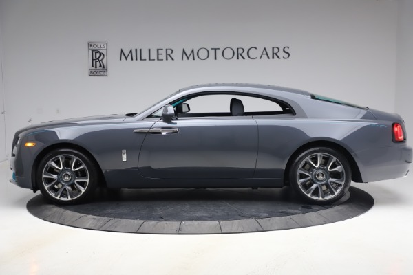New 2021 Rolls-Royce Wraith KRYPTOS for sale Sold at Bentley Greenwich in Greenwich CT 06830 4