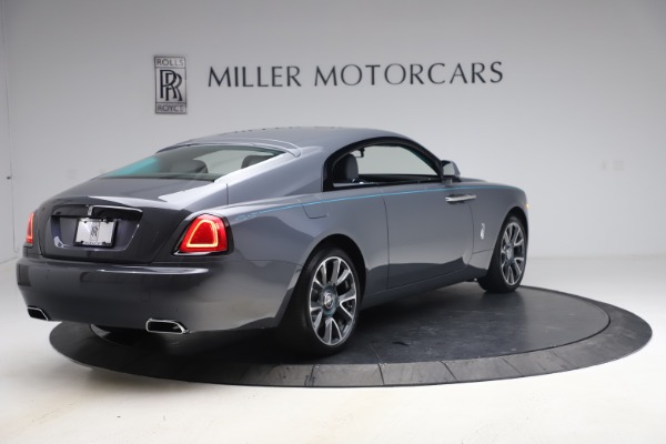 New 2021 Rolls-Royce Wraith KRYPTOS for sale Sold at Bentley Greenwich in Greenwich CT 06830 9