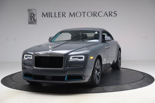 New 2021 Rolls-Royce Wraith KRYPTOS for sale Sold at Bentley Greenwich in Greenwich CT 06830 1