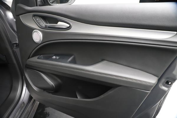 New 2020 Alfa Romeo Stelvio Ti Sport Q4 for sale $55,995 at Bentley Greenwich in Greenwich CT 06830 25