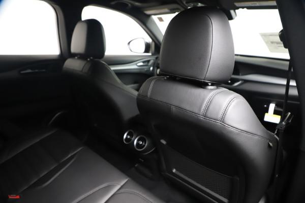 New 2020 Alfa Romeo Stelvio Ti Sport Q4 for sale $55,995 at Bentley Greenwich in Greenwich CT 06830 28
