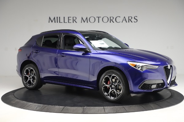 New 2020 Alfa Romeo Stelvio Ti Sport Q4 for sale $52,045 at Bentley Greenwich in Greenwich CT 06830 10