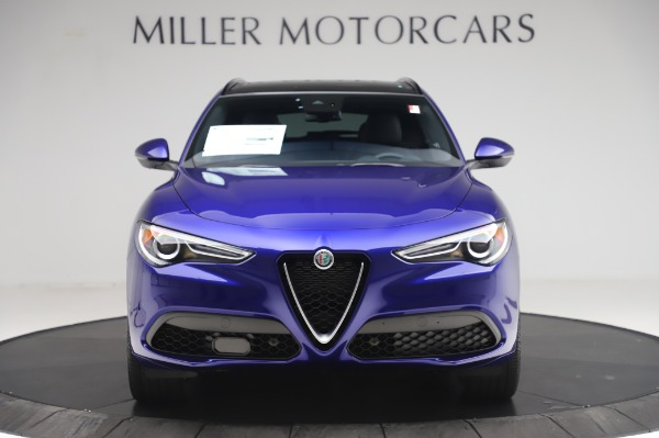 New 2020 Alfa Romeo Stelvio Ti Sport Q4 for sale $52,045 at Bentley Greenwich in Greenwich CT 06830 12