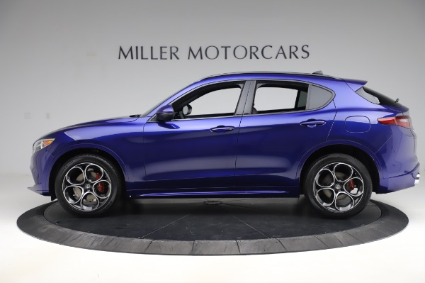 New 2020 Alfa Romeo Stelvio Ti Sport Q4 for sale $52,045 at Bentley Greenwich in Greenwich CT 06830 3