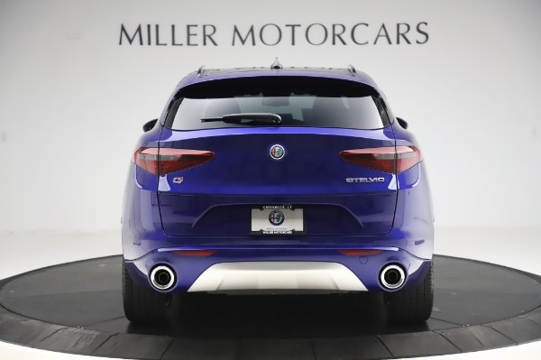 New 2020 Alfa Romeo Stelvio Ti Sport Q4 for sale $52,045 at Bentley Greenwich in Greenwich CT 06830 6