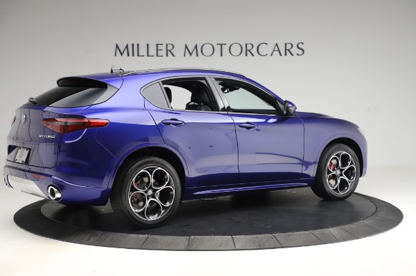 New 2020 Alfa Romeo Stelvio Ti Sport Q4 for sale $52,045 at Bentley Greenwich in Greenwich CT 06830 8