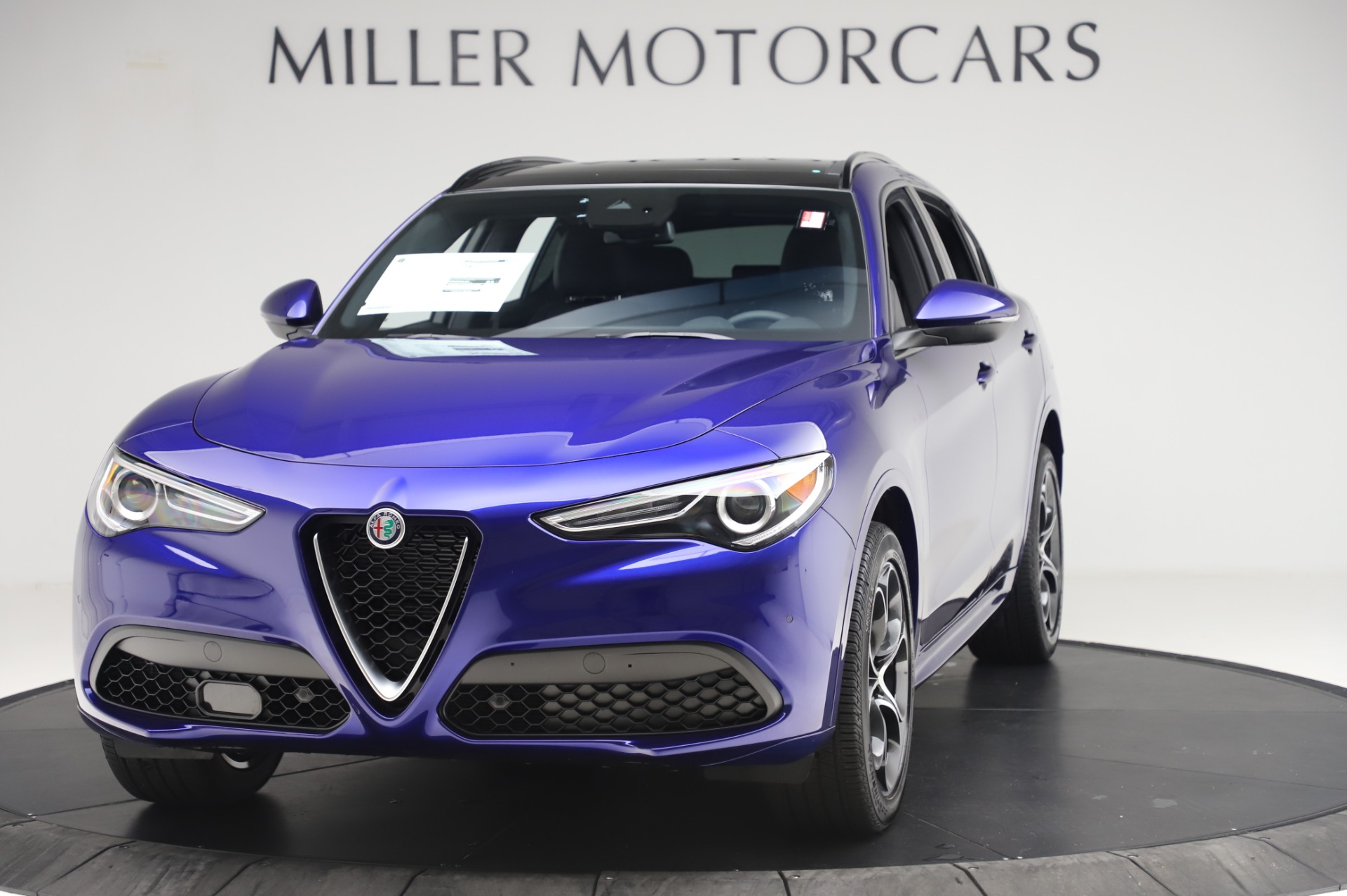 New 2020 Alfa Romeo Stelvio Ti Sport Q4 for sale $52,045 at Bentley Greenwich in Greenwich CT 06830 1