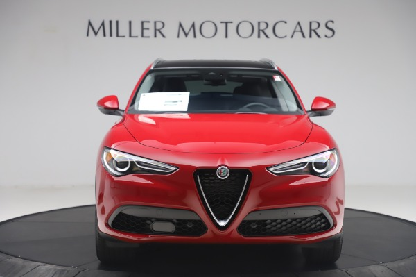 New 2020 Alfa Romeo Stelvio Q4 for sale $47,645 at Bentley Greenwich in Greenwich CT 06830 12