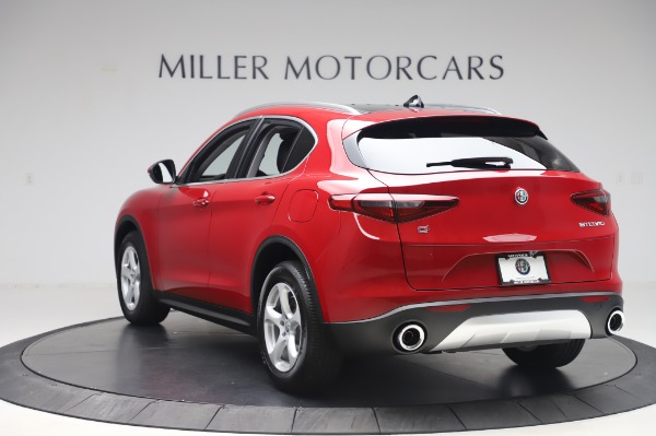 New 2020 Alfa Romeo Stelvio Q4 for sale $47,645 at Bentley Greenwich in Greenwich CT 06830 5