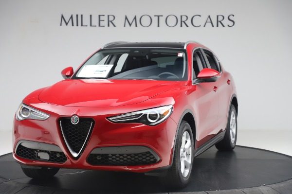 New 2020 Alfa Romeo Stelvio Q4 for sale $47,645 at Bentley Greenwich in Greenwich CT 06830 1