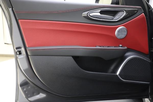 New 2020 Alfa Romeo Giulia Quadrifoglio for sale $87,445 at Bentley Greenwich in Greenwich CT 06830 16