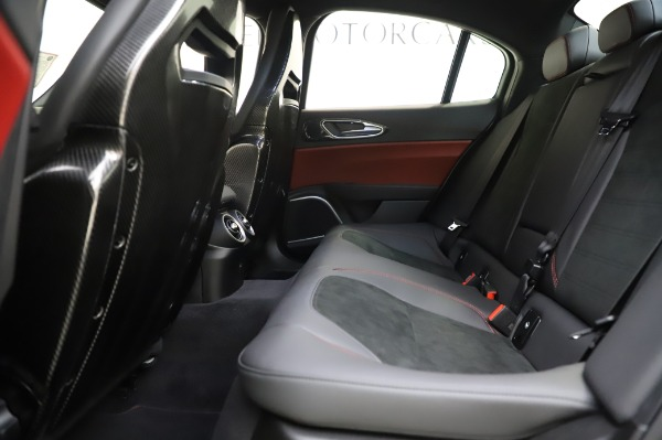 New 2020 Alfa Romeo Giulia Quadrifoglio for sale $87,445 at Bentley Greenwich in Greenwich CT 06830 18