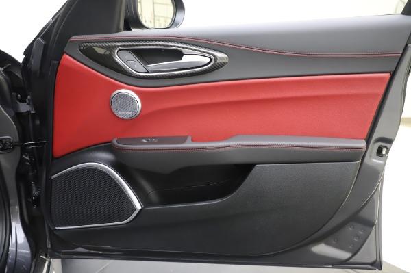 New 2020 Alfa Romeo Giulia Quadrifoglio for sale $87,445 at Bentley Greenwich in Greenwich CT 06830 24