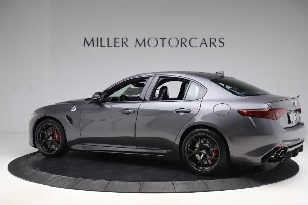 New 2020 Alfa Romeo Giulia Quadrifoglio for sale $87,445 at Bentley Greenwich in Greenwich CT 06830 4