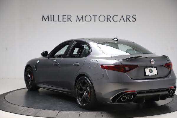 New 2020 Alfa Romeo Giulia Quadrifoglio for sale $87,445 at Bentley Greenwich in Greenwich CT 06830 5