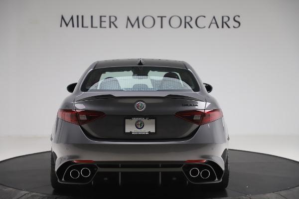 New 2020 Alfa Romeo Giulia Quadrifoglio for sale $87,445 at Bentley Greenwich in Greenwich CT 06830 6