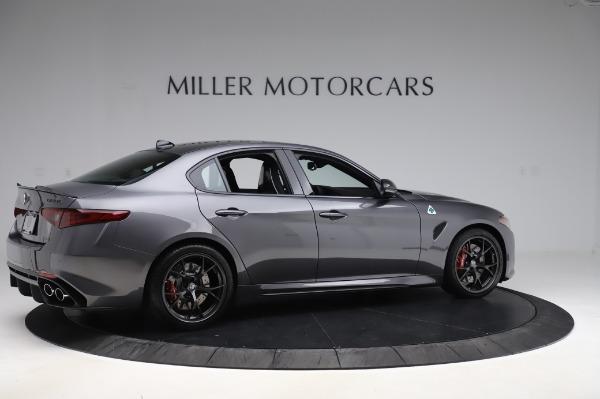 New 2020 Alfa Romeo Giulia Quadrifoglio for sale $87,445 at Bentley Greenwich in Greenwich CT 06830 8
