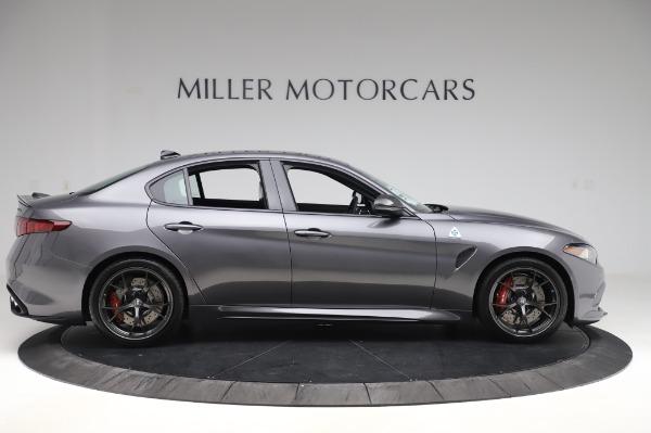 New 2020 Alfa Romeo Giulia Quadrifoglio for sale $87,445 at Bentley Greenwich in Greenwich CT 06830 9