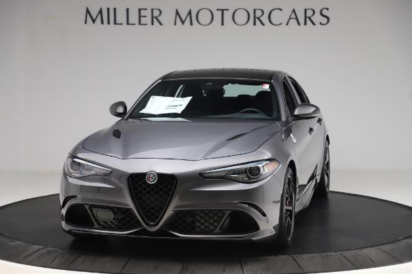 New 2020 Alfa Romeo Giulia Quadrifoglio for sale $87,445 at Bentley Greenwich in Greenwich CT 06830 1