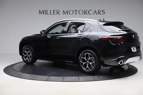 New 2020 Alfa Romeo Stelvio Ti Q4 for sale Sold at Bentley Greenwich in Greenwich CT 06830 4