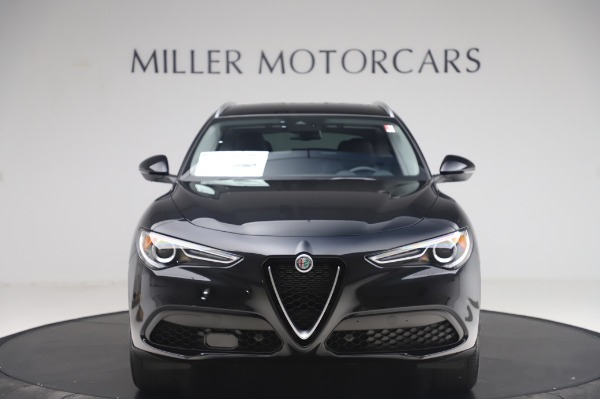 New 2020 Alfa Romeo Stelvio Q4 for sale $47,395 at Bentley Greenwich in Greenwich CT 06830 12
