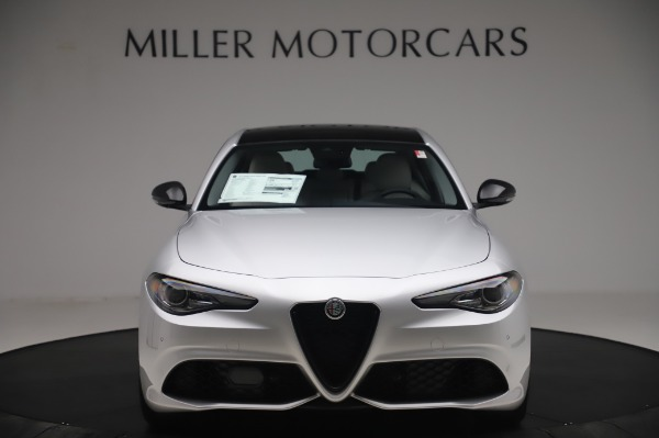 New 2020 Alfa Romeo Giulia Sport Q4 for sale Sold at Bentley Greenwich in Greenwich CT 06830 12
