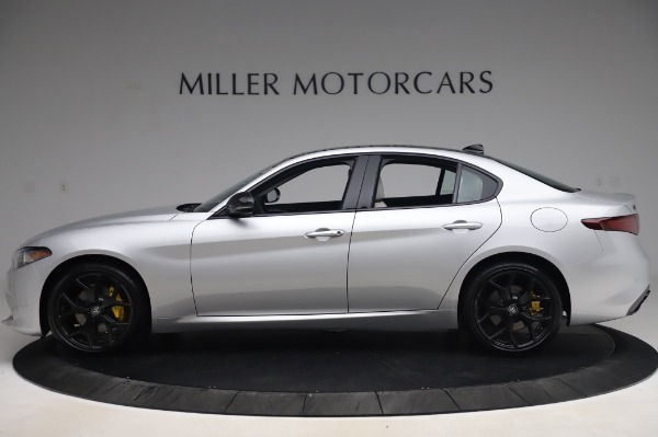 New 2020 Alfa Romeo Giulia Sport Q4 for sale Sold at Bentley Greenwich in Greenwich CT 06830 3