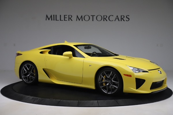Used 2012 Lexus LFA for sale $509,900 at Bentley Greenwich in Greenwich CT 06830 10