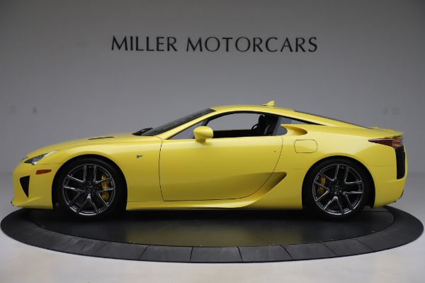 Used 2012 Lexus LFA for sale $509,900 at Bentley Greenwich in Greenwich CT 06830 3