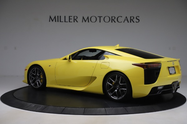 Used 2012 Lexus LFA for sale $509,900 at Bentley Greenwich in Greenwich CT 06830 4