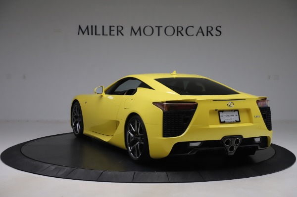 Used 2012 Lexus LFA for sale $509,900 at Bentley Greenwich in Greenwich CT 06830 5