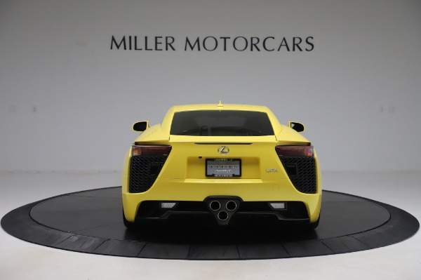 Used 2012 Lexus LFA for sale $509,900 at Bentley Greenwich in Greenwich CT 06830 6