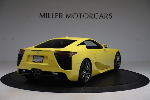 Used 2012 Lexus LFA for sale $509,900 at Bentley Greenwich in Greenwich CT 06830 7