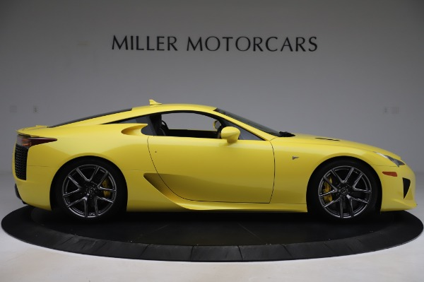 Used 2012 Lexus LFA for sale $509,900 at Bentley Greenwich in Greenwich CT 06830 9
