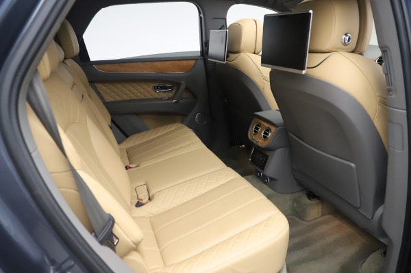 Used 2017 Bentley Bentayga W12 for sale Sold at Bentley Greenwich in Greenwich CT 06830 27