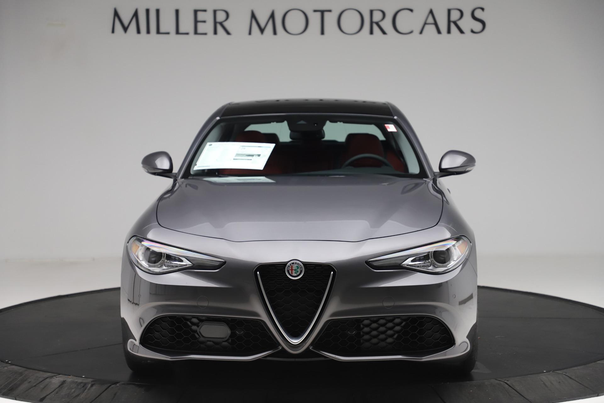 New 2020 Alfa Romeo Giulia Sport Q4 for sale $48,945 at Bentley Greenwich in Greenwich CT 06830 1