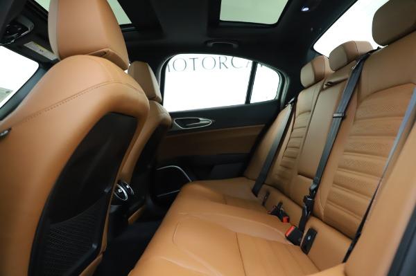 New 2020 Alfa Romeo Giulia Ti Sport Q4 for sale $51,495 at Bentley Greenwich in Greenwich CT 06830 19