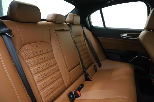 New 2020 Alfa Romeo Giulia Ti Sport Q4 for sale $51,495 at Bentley Greenwich in Greenwich CT 06830 26