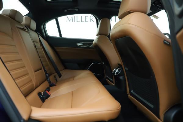 New 2020 Alfa Romeo Giulia Ti Sport Q4 for sale $51,495 at Bentley Greenwich in Greenwich CT 06830 27