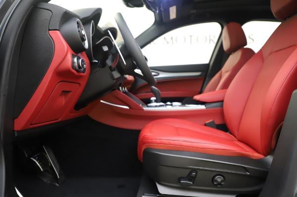 New 2020 Alfa Romeo Stelvio Sport Q4 for sale $50,945 at Bentley Greenwich in Greenwich CT 06830 14