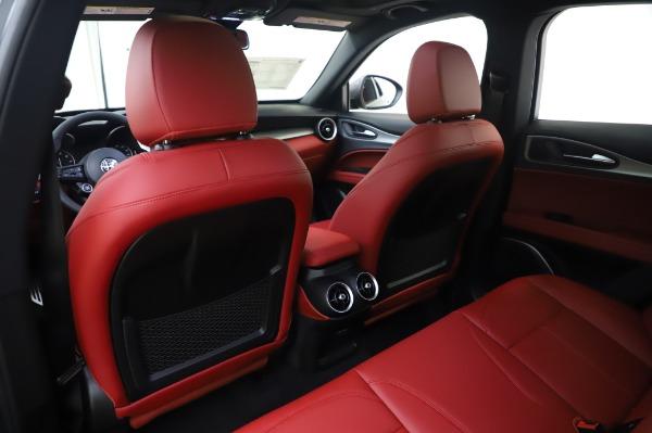 New 2020 Alfa Romeo Stelvio Sport Q4 for sale $50,945 at Bentley Greenwich in Greenwich CT 06830 24