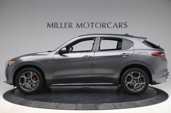 New 2020 Alfa Romeo Stelvio Sport Q4 for sale $50,945 at Bentley Greenwich in Greenwich CT 06830 3