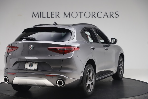 New 2020 Alfa Romeo Stelvio Sport Q4 for sale $50,945 at Bentley Greenwich in Greenwich CT 06830 7