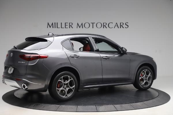 New 2020 Alfa Romeo Stelvio Sport Q4 for sale $50,945 at Bentley Greenwich in Greenwich CT 06830 8