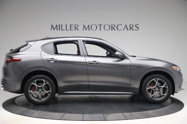 New 2020 Alfa Romeo Stelvio Sport Q4 for sale $50,945 at Bentley Greenwich in Greenwich CT 06830 9