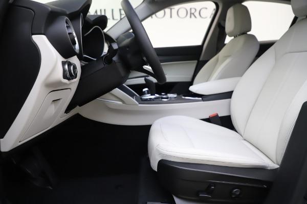 New 2020 Alfa Romeo Stelvio Ti Q4 for sale Sold at Bentley Greenwich in Greenwich CT 06830 14